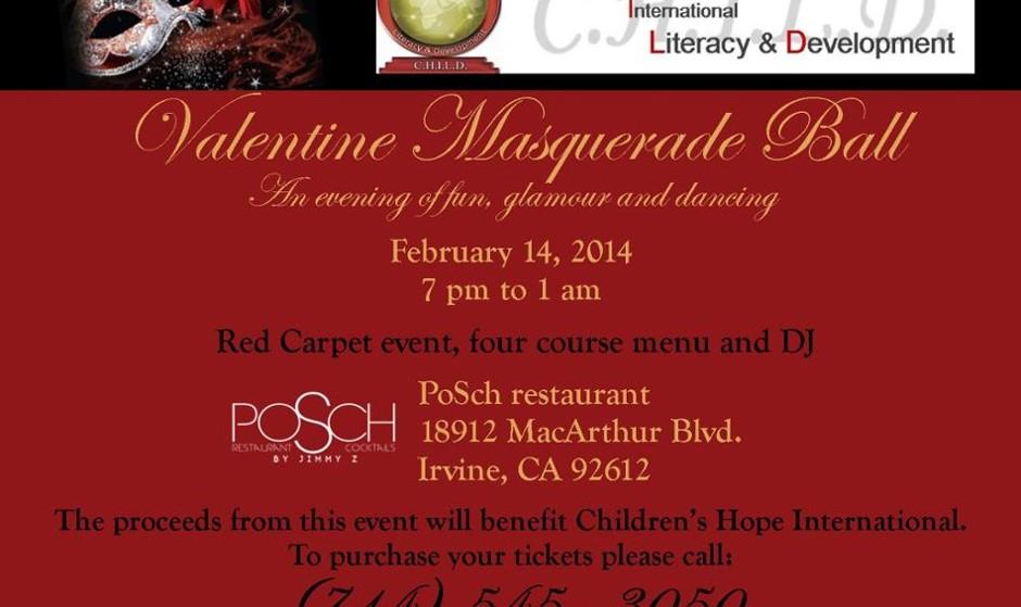 Valentine Masquerade Ball