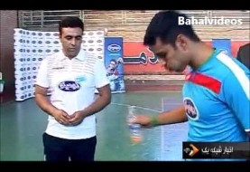 Iranian footballer breaks soccer ball juggling record