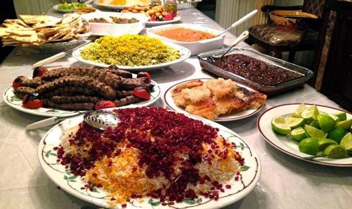 شب بوفه شام ایرانی