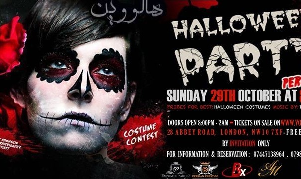 Persian Halloween Party London