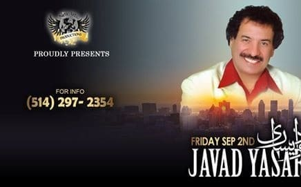 کنسرت جواد یساری در مونترآل