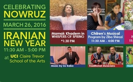 Nowruz 2016 Celebrations at UC IRVINE