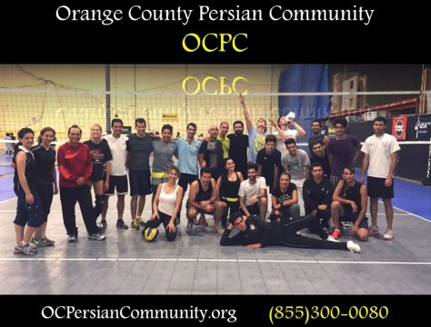 Orange County Persian Community Indoor Volleyball Night