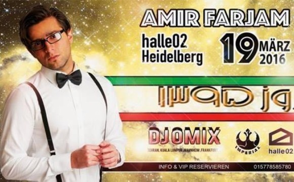 Amir Farjam Live in Heidelberg (Norooz Party 1395 )