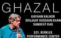 Ghazal featuring Kayhan Kalhor & Shujaat Hussain Khan with Sandeep Das