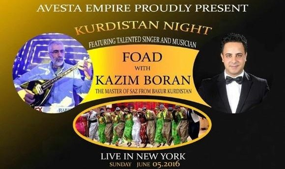 Kurdistan Night with Foad and Kazim Boran