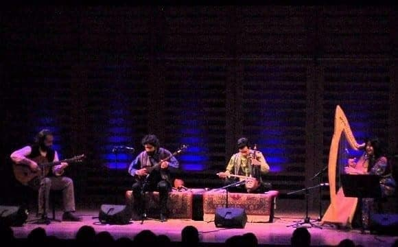 Agrin Ensemble: Iranian Kurdish Music Concert, Reflection of Silence