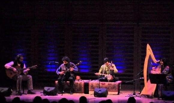 گروه آگرین: کنسرت بداهه نوازی ایرانی کردی