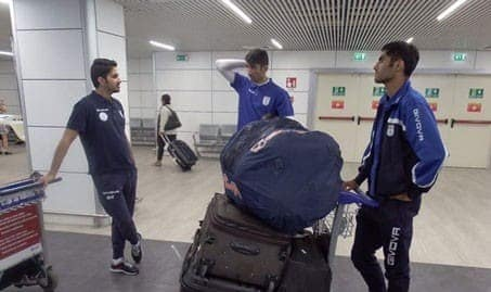 Uzbeks Seized Cash Suitcase from Iran's National Football Team