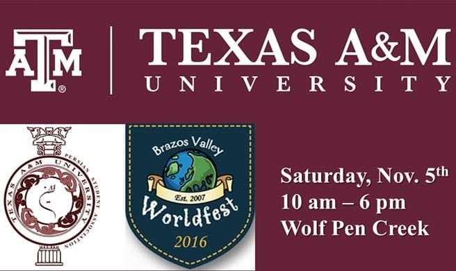 Persian Student Association in 2016 Brazos Valley Worldfest Cultural Display