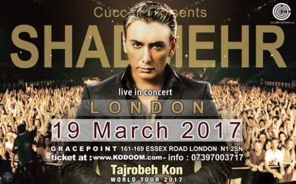 Shadmehr Aghili Norooz Concert in London