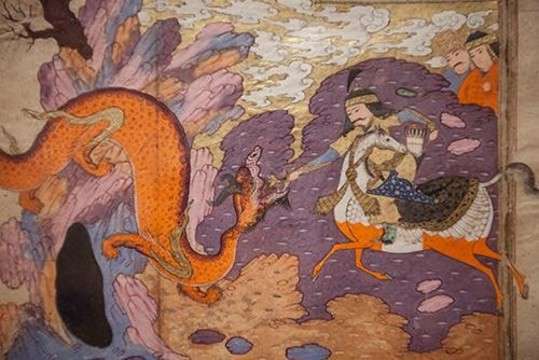 Lecture, Music and Reception - Maryam Tabibzadeh: Women in Shahnameh