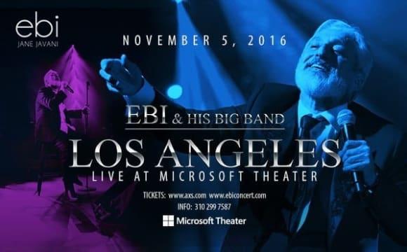 Ebi Live in Concert in Los Angeles