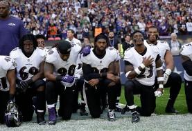 دیوانگی ترامپ به ورزش هم رسید/ میهنپرستی یا نژادپرستی؟