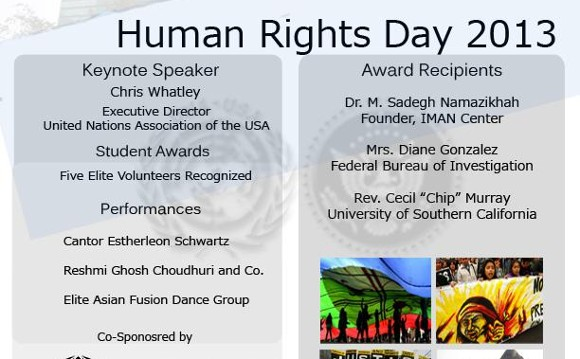 Human Rights Day 2013: Music and Awards