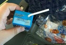 شیر رایگان مدارس سر از پذیرایی هواپیما درآورد! عکس