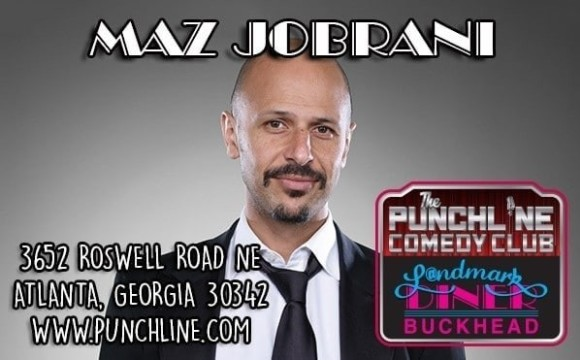 Maz Jobrani at the Punchline Comedy Club in Atlanta