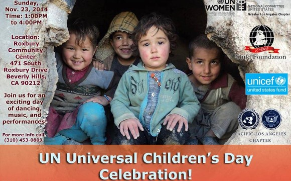UN Universal Children's Day Celebration