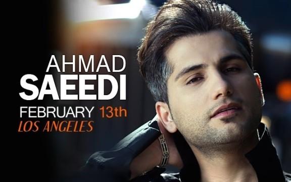 کنسرت احمد سعیدی در لس آنجلس برای اولین بار