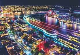 In Pictures: Vivid Sydney light and color festival