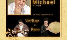 کنسرت مایکل همراه با موسیقی سنتی توسط وحید بیات و رعنا
