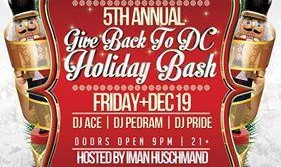 Annual Give Back to DC Holiday Bash