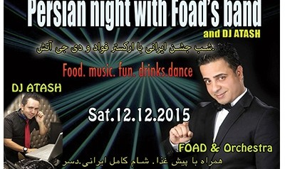 Dinner and Live Persian Music With Foad