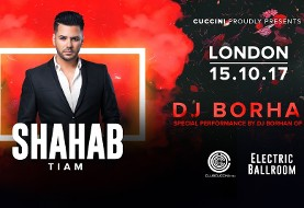 Shahab Tiam & DJ Borhan of Bia۲ Live Concert in London