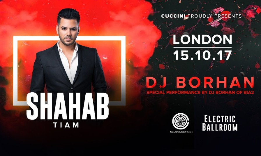 Shahab Tiam & DJ Borhan of Bia2 Live Concert in London