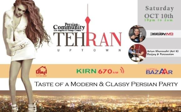 Tehran Uptown, Taste of a Modern & Classy Persian Party +18
