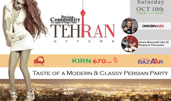 Tehran Uptown, Taste of a Modern & Classy Persian Party +18