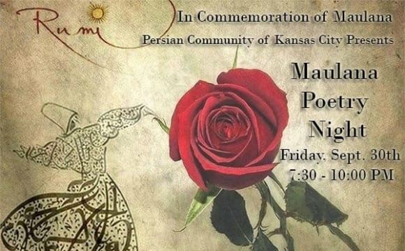 Commemoration of Maulana Poetry Night