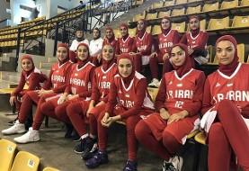 پیروزی تیم بسکتبال دختران زیر ۱۶ سال ایران برابر نپال