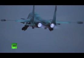 Russian long-range bombers target ISIL from Iran's Hamadan airfield