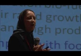 Advanced microalgae research in Iran: Dr. Nasrin Moazami at TEDx Tehran