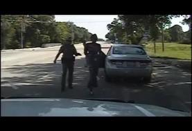 جنجال حلق آویز شدن زن سیاه پوست معترض در زندان تگزاس (ویدئو)