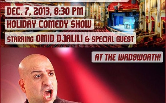 Omid Djalili Live! Comedy Gala at the Wadsworth in Los Angeles