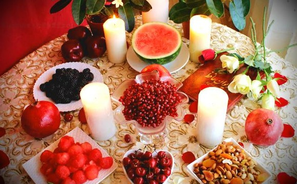 Yalda Night Celebration with Full Iranian Dinner