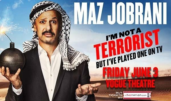 Maz Jobrani: I'm Not A Terrorist, But I've Played One on TV