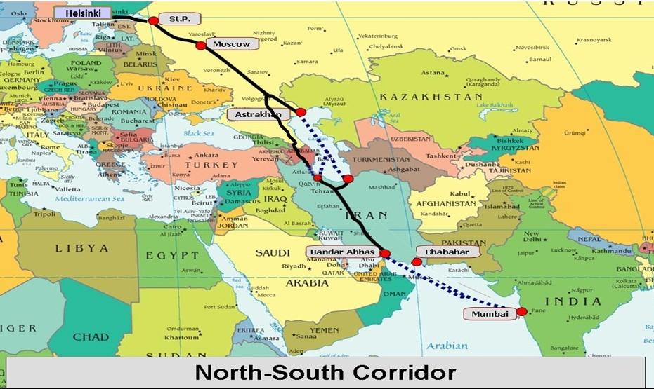 مهر تایید بر اهمیت استراتژیکی ایران: آغاز صادرات هند به روسیه از طریق ایران
