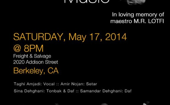 Classical Persian Music Night at Berkeley