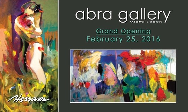 ABRA Gallery Miami: Iranian Artist Exhibition