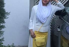 توهین به مریم کاویانی به خاطر تسلیت به احمدی نژاد! عکس حمله به اینستاگرام بازیگر زن