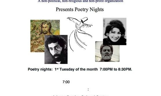 1st Tuesday Poetry Night by Dr. Zarandy