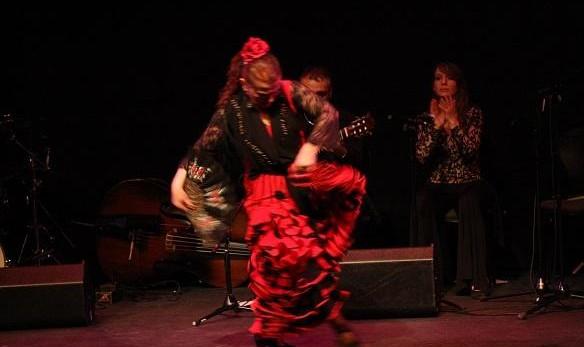 Mehran Jalili Quartet with Flamenco dancer Maya Tatiana