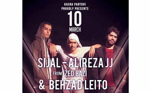Alireza JJ, Sijal, Leito Concert in Vienna