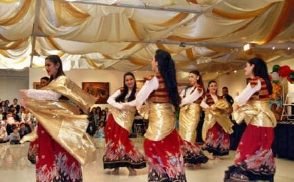 جشن نوروز همراه رقص رنگین کمان توسط گروه شهرزاد