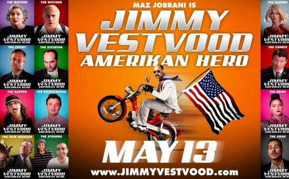 Jimmy Vestvood in Scottsdale: Amerikan Hero, Maz Jobrani's New Film