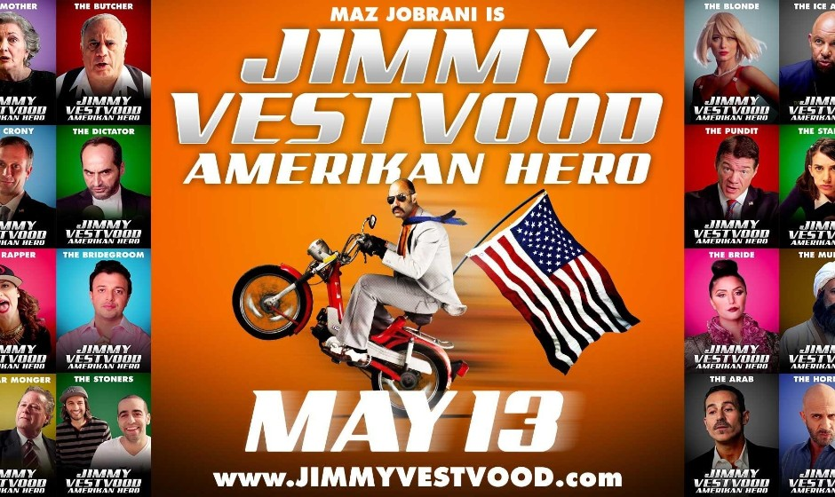 Home Los Angeles, CA Events Jimmy Vestvood: Amerikan Hero, Maz Jobrani's New Film, Q&A + Film Screening+ Performance