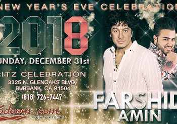 Farshid Amin at New Year's Eve ...